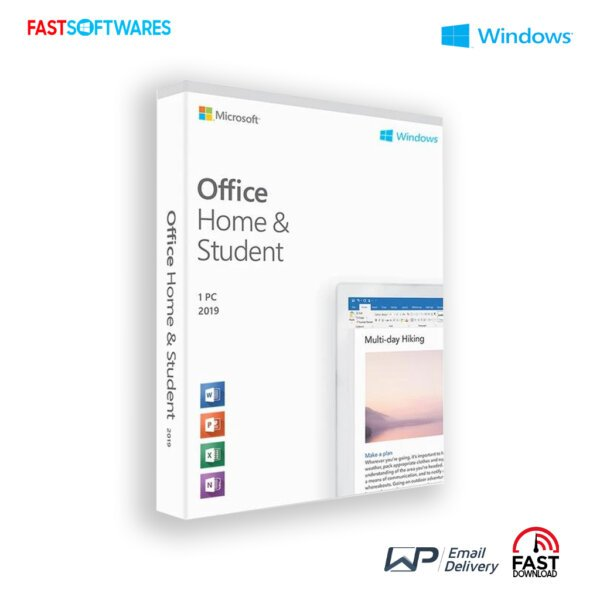 Microsoft Office 2019 Home and Student License
