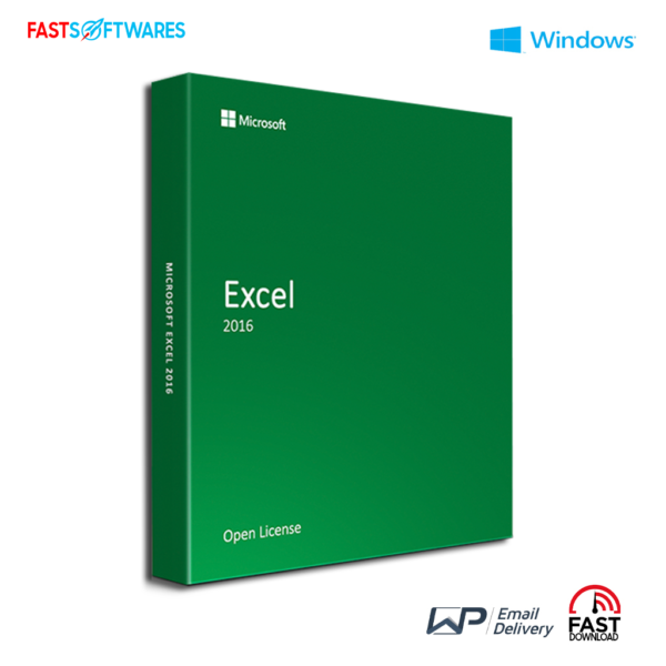 Microsoft Excel 2016 Open License