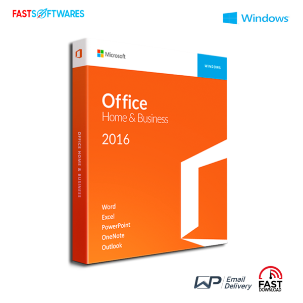 Microsoft Office 2016 Home and Business For Windows
