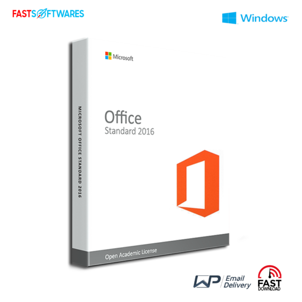 Microsoft Office Standard 2016 - Open Academic License