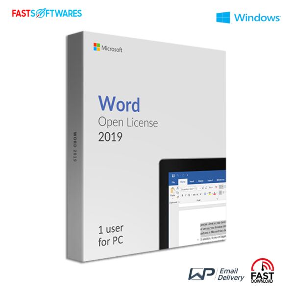 Microsoft Word 2019 Open License