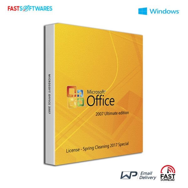 Microsoft Office 2007 Ultimate – License