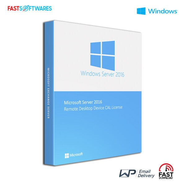 Microsoft Windows Server 2016 Remote Desktop Device CAL License