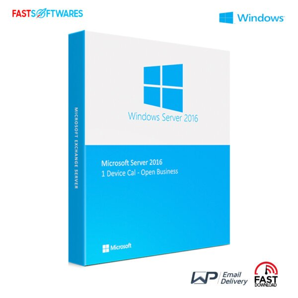 Microsoft Windows  Server 2016 1 Device Cal – Open Business