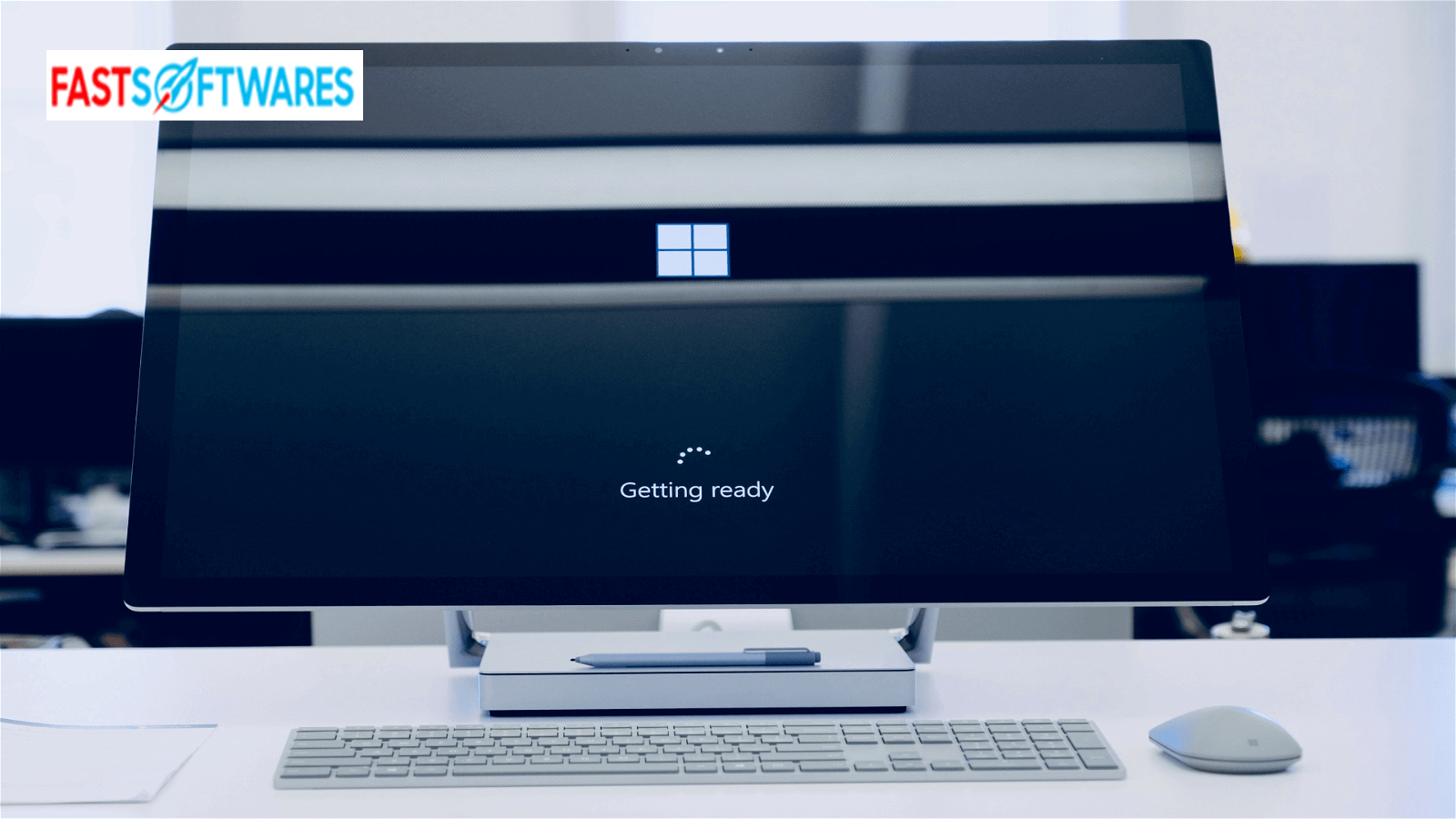 Computer with windows 10 update assistant